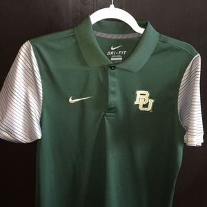 Nike Dri-Fit Baylor Bears Polo, sized small
